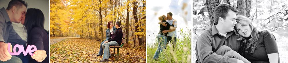 Michigan Engagement Portraits - Wedding Photographer